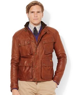 0c4847479 UPC 888529301958 product image for Polo Ralph Lauren Southbury Leather Bike  Jacket