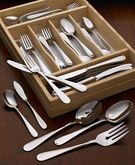 Macy*s - Dining & Entertaining - Oneida Flight II 90 Piece Flatware Set, Service for 12 :  home silverware flatware