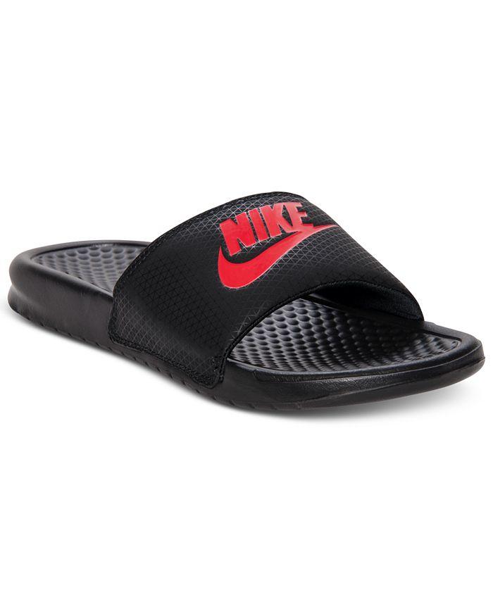 Nike - Men's Benassi JDI Slide Sandals from Finish Line