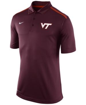 Upc 806491736301 virginia tech hokies nike elite coaches for Maroon dri fit polo shirt