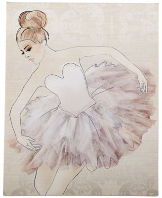 Graham & Brown Classic Ballerina Canvas Print
