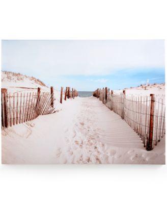 Graham & Brown Walk to the Beach Canvas Print