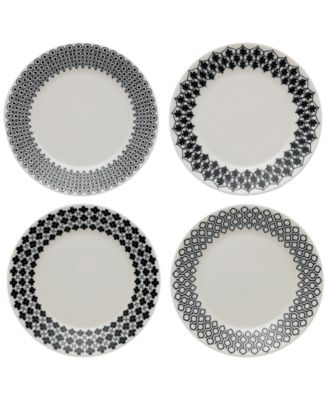 Royal Doulton Foulard Star Plates, Set of 4