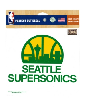 Wincraft Seattle SuperSonics Die-Cut Decal