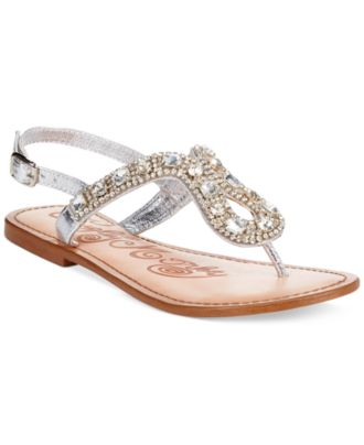 Naughty Monkey Ring Teaser Flat Thong Sandals