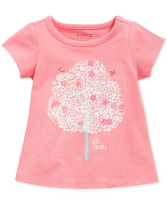 First Impressions Baby Girls' Festive Tree Tee