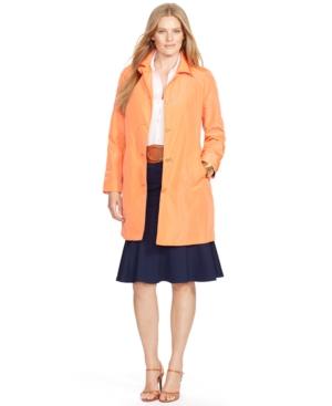 Lauren Ralph Lauren Plus Size Trench Coat