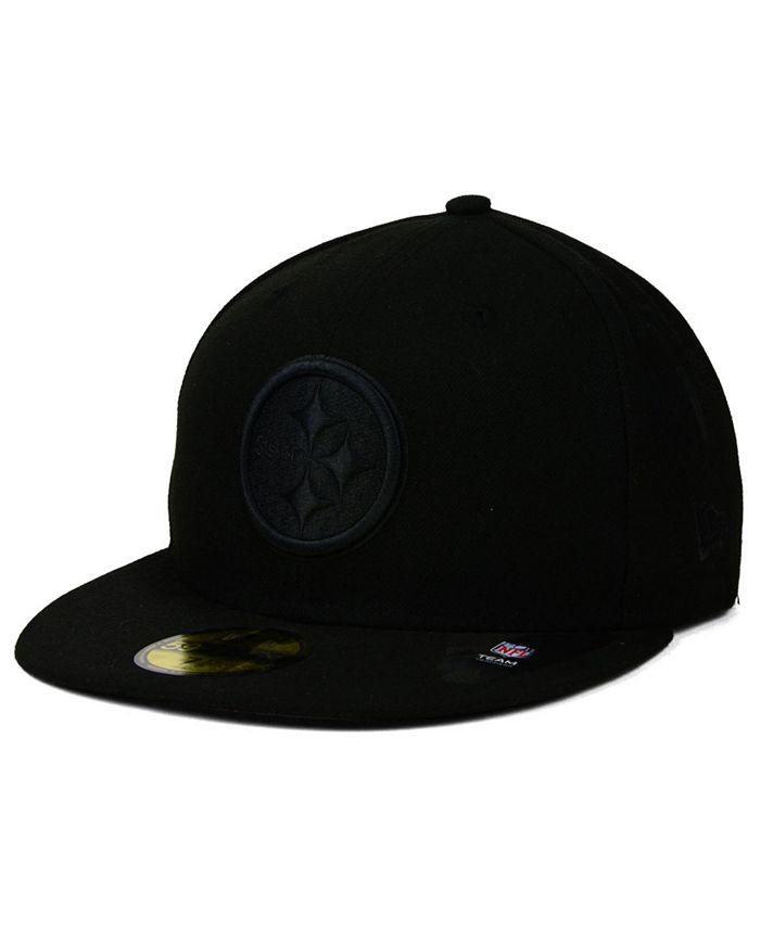 New Era - Pittsburgh Steelers Black on Black 59FIFTY Cap