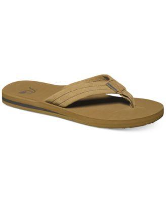 Carver Suede Flip Flops