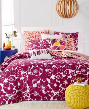 Closeout! Martha Stewart Whim Collection Floral Fusions 4 Pc Twin/Twin Xl Comforter Set Bedding