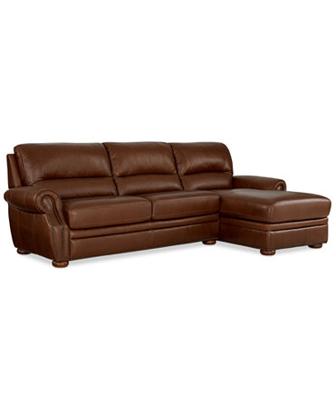 Royce leather 2 piece chaise sectional sofa furniture for Elena leather 2 piece sectional sofa sofa chaise