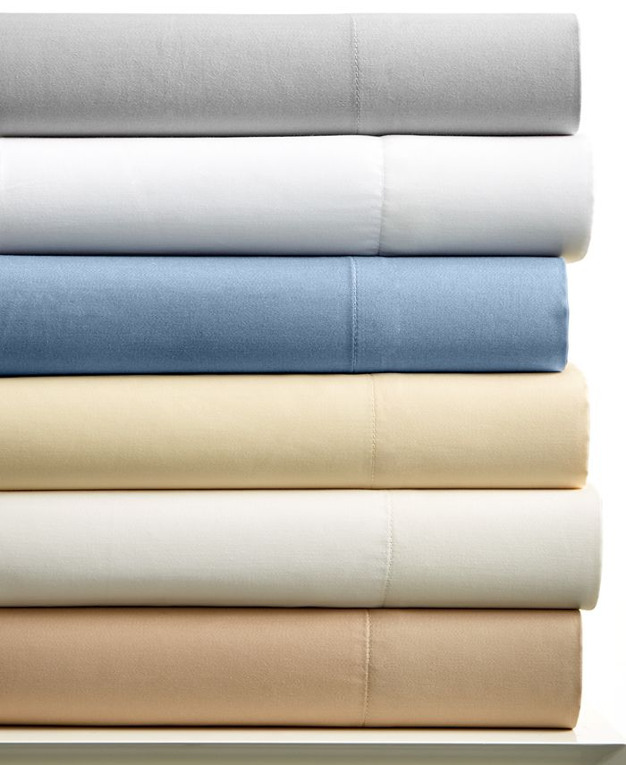 Charter Club - 400 Thread Count Tailored Fit Solid King Sheet Set