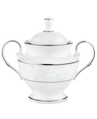 Lenox Dinnerware, Venetian Lace Sugar Bowl