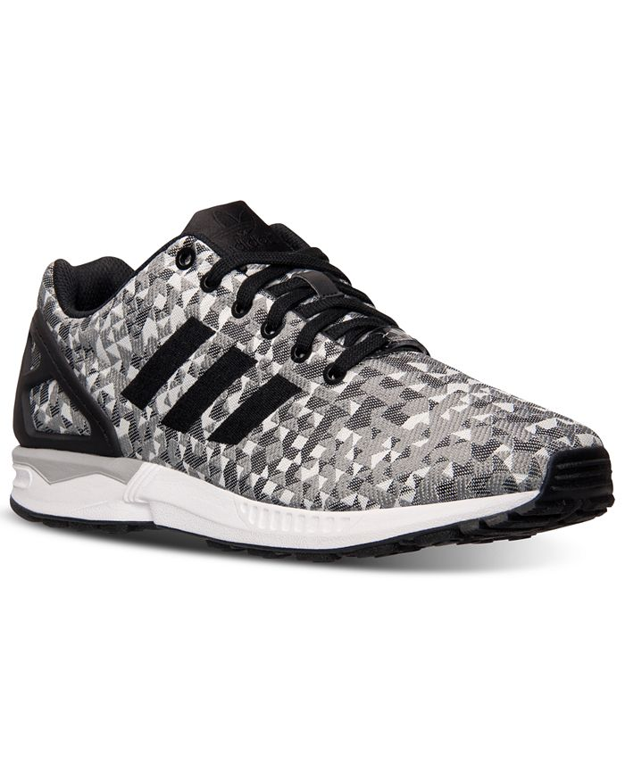 adidas Men's ZX Flux Weave Casual Sneakers from Finish Line ...