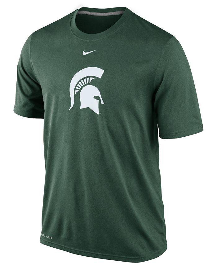 Nike - Men's Michigan State Spartans Dri-FIT Logo Legend T-Shirt