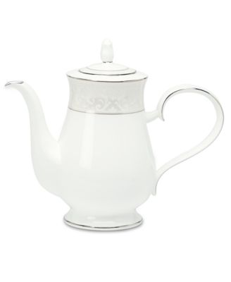 "Noritake ""Montvale Platinum"" Coffee Server, 48 oz."