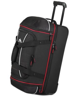 "High Sierra 22"" Rolling Drop Bottom Duffel"