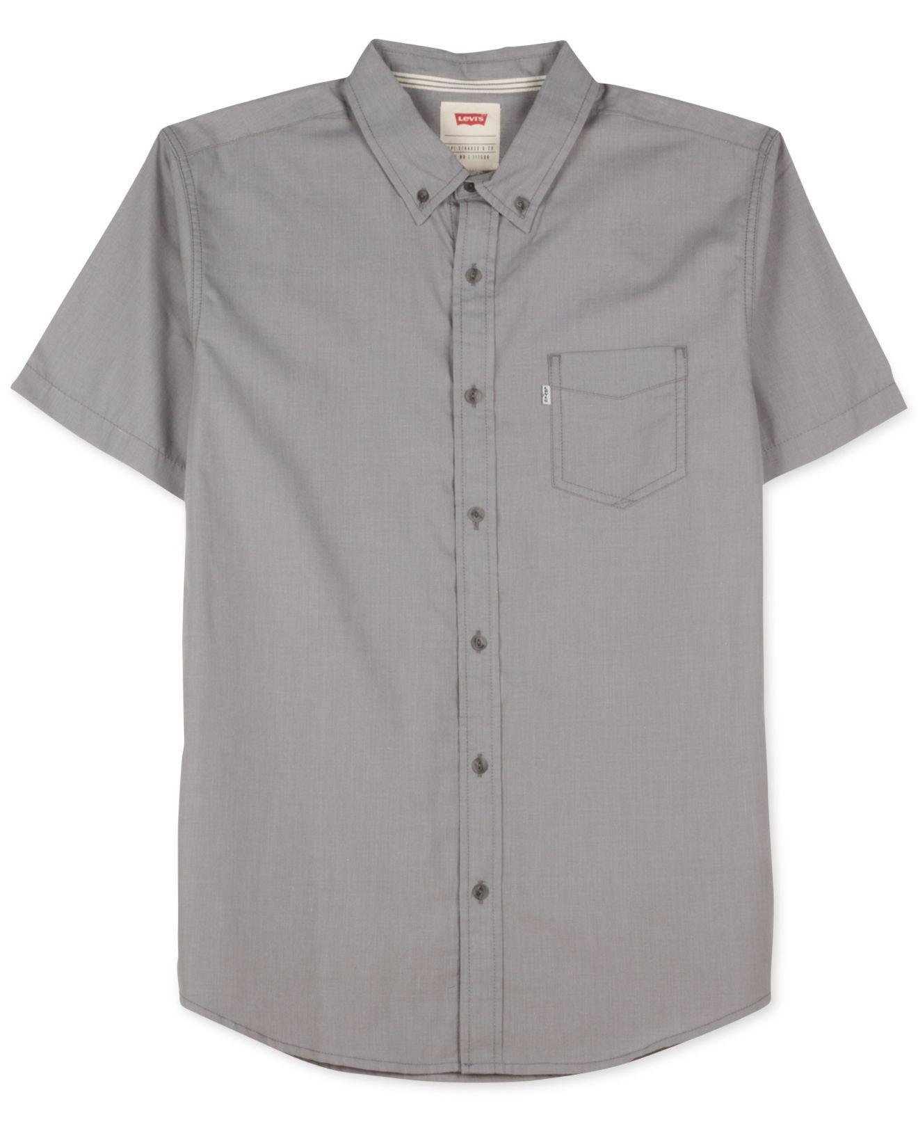 Black Levi Shirt Levi's Dar Poplin Shirt