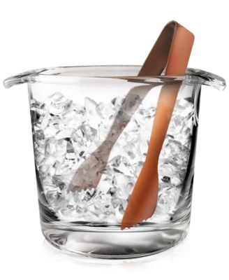Luminarc 2-Pc. Ice Bucket with Copper Tongs