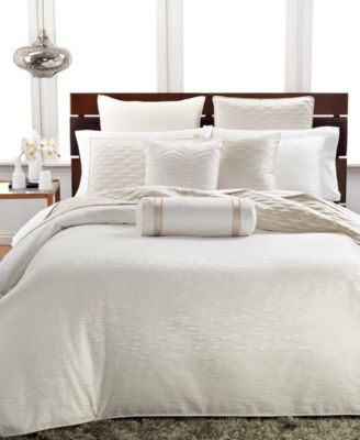 Hotel Collection Woven Texture Full/Queen Duvet Cover