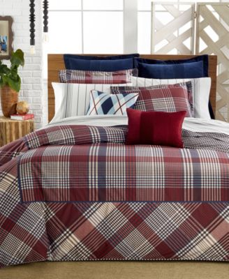 Tommy Hilfiger Buckaroo Plaid Full/Queen Comforter Set