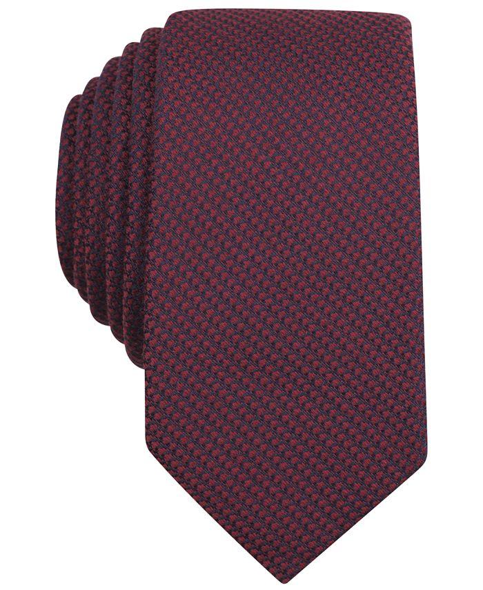 Bar III - Solid Knit Skinny Tie