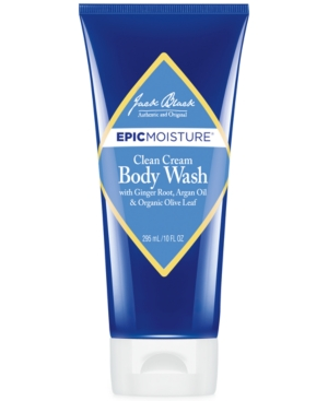 Jack Black Epic Moisture Cream Body Wash, 10 oz