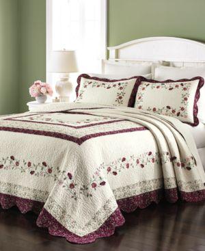 Martha Stewart Collection Prairie House Queen Bedspreads Bedding