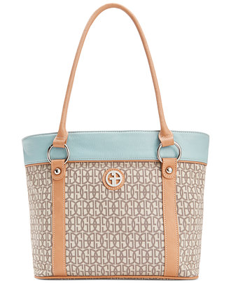 Giani Bernini Annabelle Signature Pop Color Tote