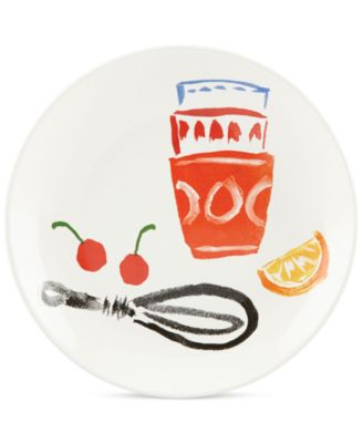 kate spade new york all in good taste Stoneware Accent Plate