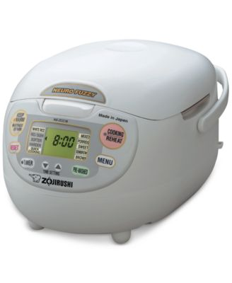 Zojirushi NS-ZCC18WZ 10-Cup Advanced Neuro Fuzzy Rice Cooker and Warmer