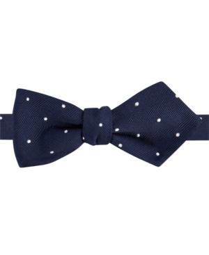 Tommy Hilfiger Wedding Dot Pointed Self-Tie Bow Tie $19.99 AT vintagedancer.com