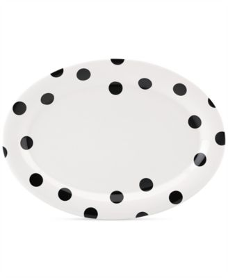 "kate spade new york all in good taste Deco Dot 14"" Platter"
