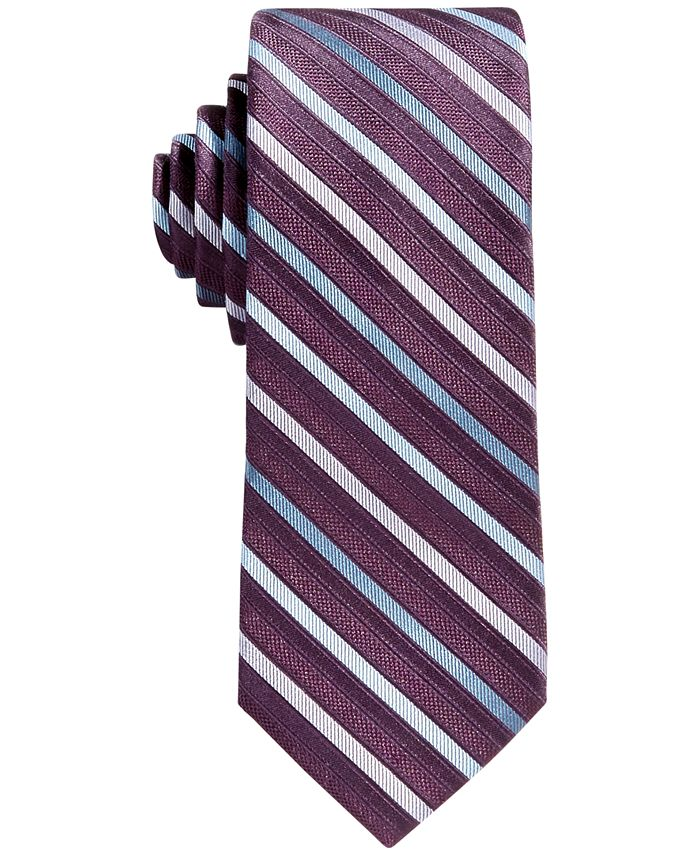 Calvin Klein - Big Boys Gemstone Striped Necktie