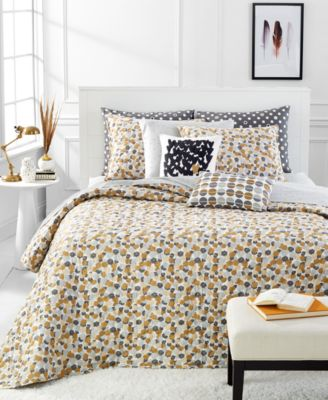 Martha Stewart Whim Collection Puff Piece King Quilt