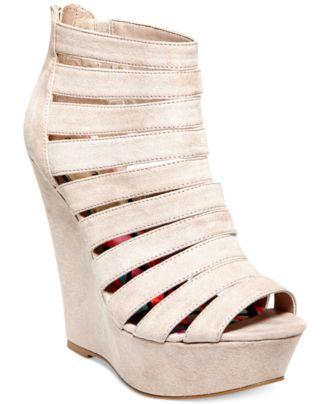 Madden Girl Extraa Platform Wedge Sandals