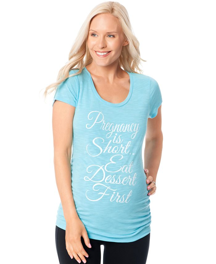 Motherhood Maternity - Maternity Graphic Tee