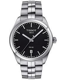 Tissot Men's Swiss PR100 Stainless Steel Bracelet Watch 39mm T1014101105100