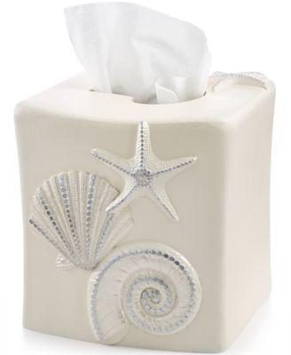 Bath, Sequin Shells Tissue Cover