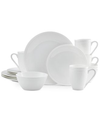 Mikasa Dinnerware Bone China Loria 16 Piece Set Service for 4