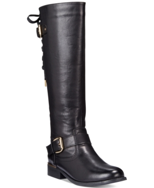 Wanted Lounge Lace-up Riding Boots Women's Shoes