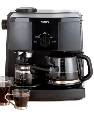 Krups XP1500 Coffee Maker, Espresso Combo