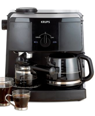Krups XP1500 Coffee Maker, Espresso Combo