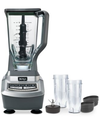 Ninja BL740 Professional Blender with 2 Single Serving Cups