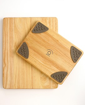 Macy*s - Cutting Boards - Martha Stewart Collection Wooden Gripper Cutting Boards, Set of 2 :  cutting board kitchen martha stewart