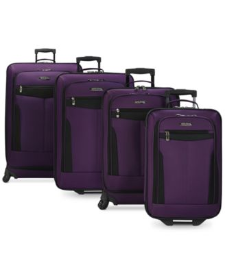 Travel Select Segovia 4 Piece Spinner Luggage Set, Only at Macy's