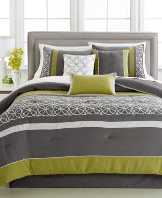 Lawrence 7-Pc. Full Comforter Set