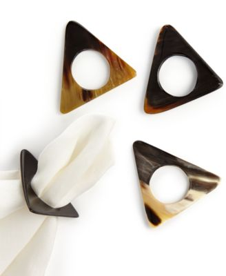 Heart of Haiti Triangle Horn Napkin Holders