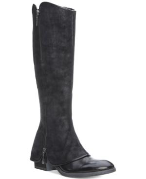 Donald J Pliner Devi Zipper Tall Boots Women's Shoes