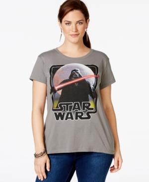 Plus Size Star Wars Darth Vader T-Shirt from Hybrid